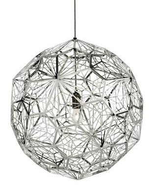 Tom Dixon Etch Light Web - Stainless Steel belysning belysning fra Tom Dixon