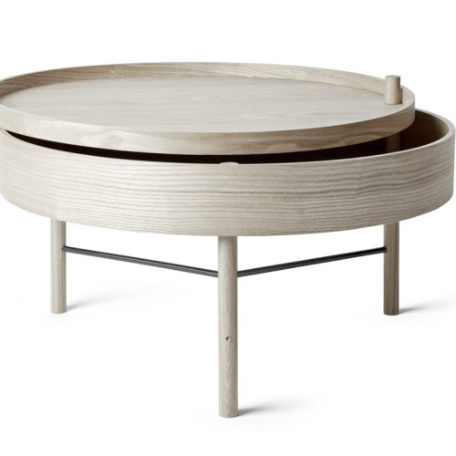Turning Table White Oak/Krom fra Menu - 5709262990153