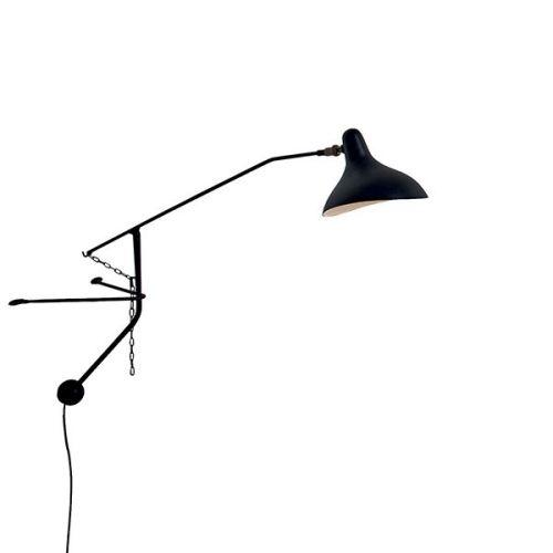 Vegglampe BS2 Mini Svart fra  -