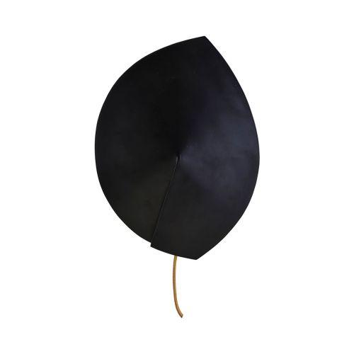 Vegglampe Leaf Svart fra House Doctor - 5707644537224