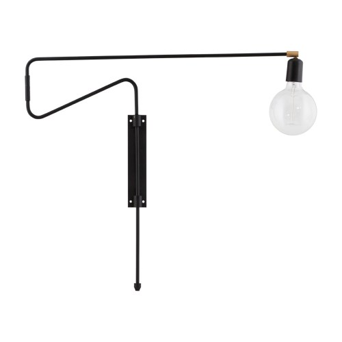 Vegglampe Swing Svart fra House Doctor - 5707644447646