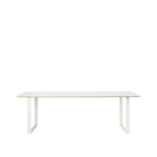 70/70 Spisebord Hvit Laminat/Fineer/Hvit - Muuto