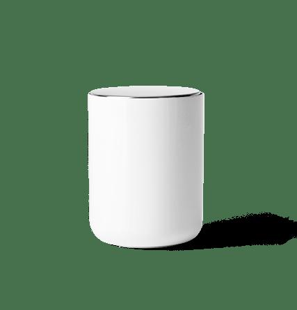Beholder Hvit - Menu