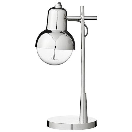 Bordlampe Carmela H41cm Sølv fra Lene Bjerre