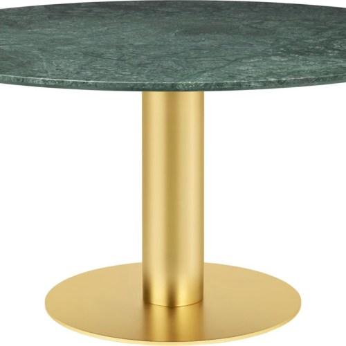 Dining Table 2.0 150 cm m/messing base - Gubi
