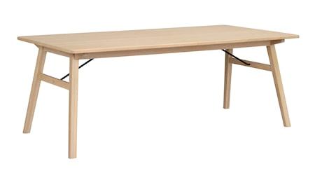 Graham spisebord 200x100 mørkebrun eik fra Rowico