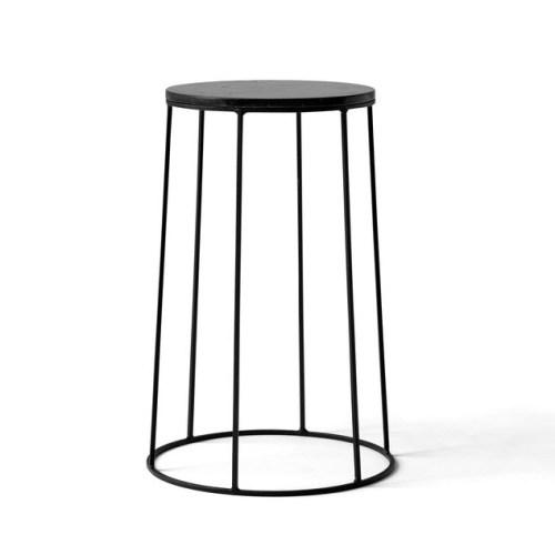 Marmorplate til Wire pot Black - Menu