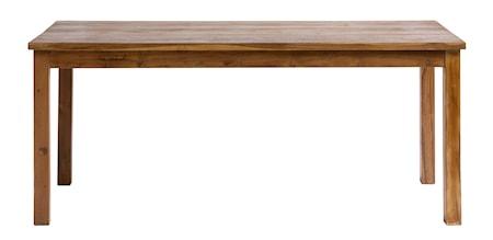 Matbord i Teak 74x175 cm - Natur fra Nordal