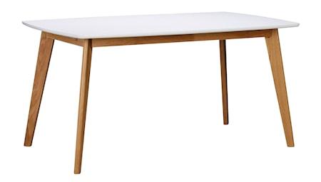 Olivia spisebord 150 hvit/eik fra Rowico