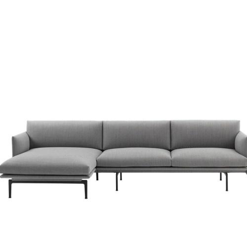 Outline Sofa Chaise Longue - left - Muuto
