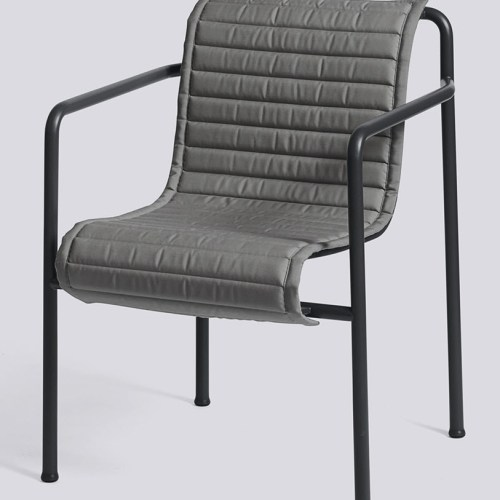 Quilted Pute til  Dining Arm Chair - Hay