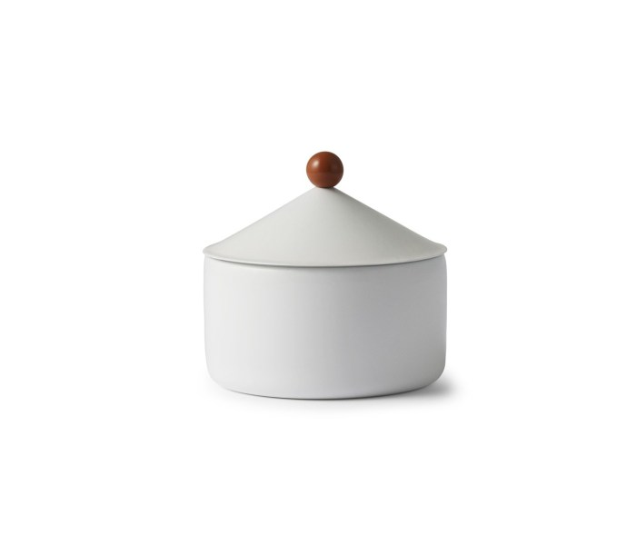 Rund metallboks White S - Normann Copenhagen
