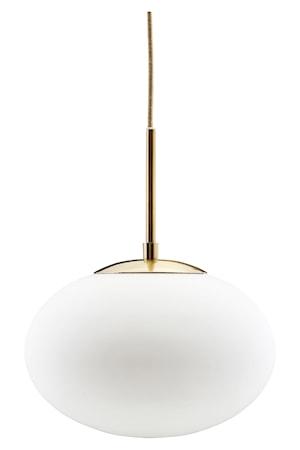 Taklampe Opal Ø 30x35 cm - Hvit fra House Doctor