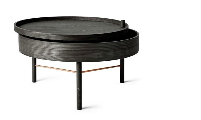 Turning Table Black - Menu