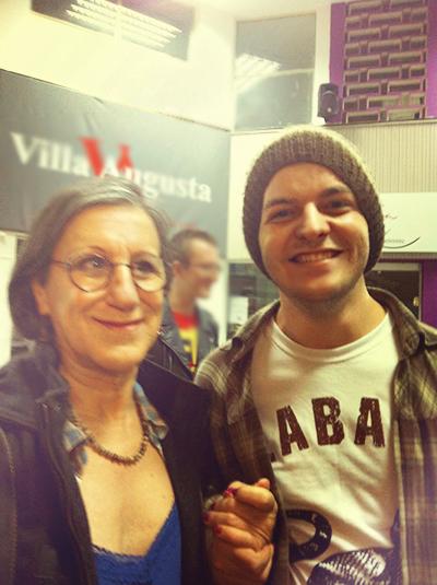 Laerte e o Lucas Panoni