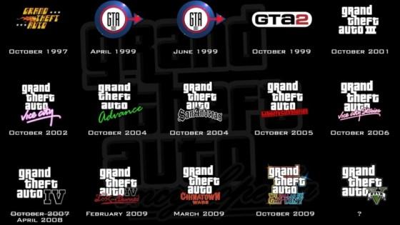 Os logos feitos para GTA