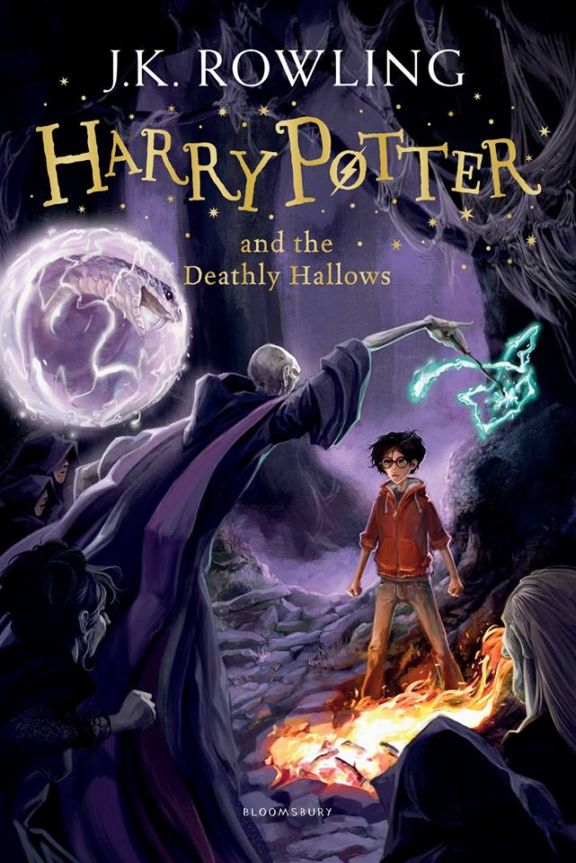 Capa: Harry Potter e as Relíquias da Morte (Harry Potter and the Deathly Hallows)