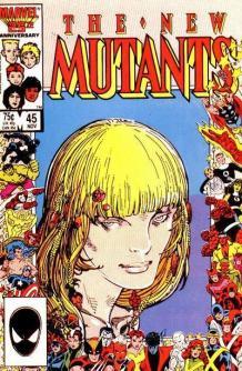 Capa: Novos Mutantes #45