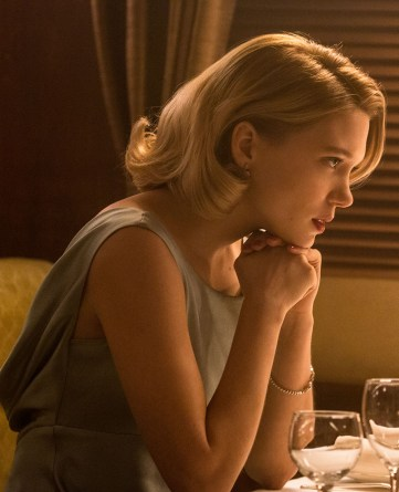 Léa Seydoux in Metro-Goldwyn-Mayer Pictures/Columbia Pictures/EON Productions' action adventure SPECTRE.