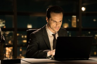 Andrew Scott in Metro-Goldwyn-Mayer Pictures/Columbia Pictures/EON Productions' action adventure SPECTRE.