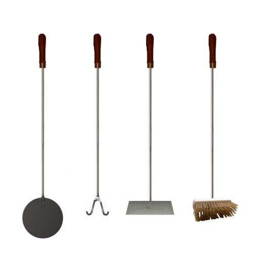 Pizza oven 4 piece tools kit