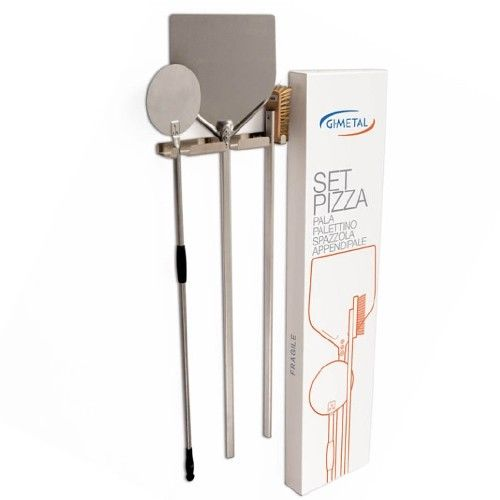 Gi Metal  - 4 piece Pizza Tools Kit