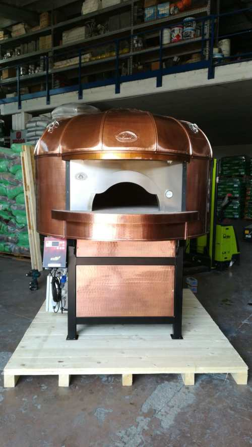 Artisan Commercial Wood Fired Oven - Customised Copper
