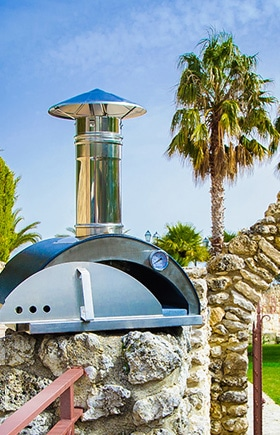 Stainless steel pizza ovens
