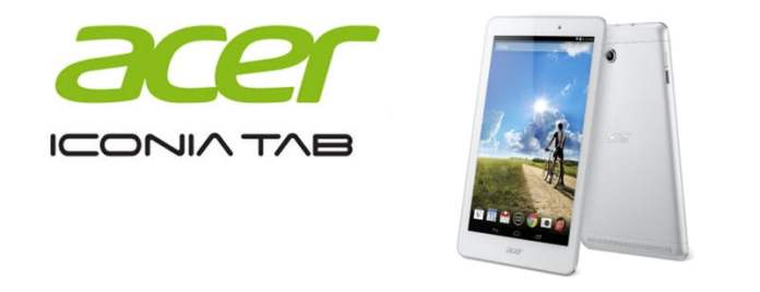 Acder Iconia Tab 8 Banner