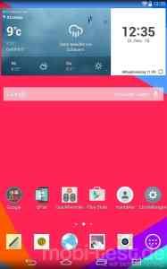 LG G Pad 7.0 Screenshot