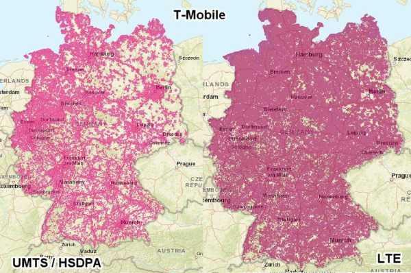 LTE Ausbau Telekom