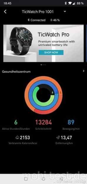 Mobvoi Ticwatch Pro Test App (2)