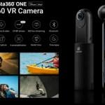 世界で最も使いやすい6軸手振れ補正搭載次世代360度VRカメラ『Insta360one』発表!