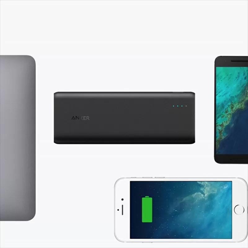 AnkerがiPhone8を7回以上充電可能な大容量モバイルバッテリー発売