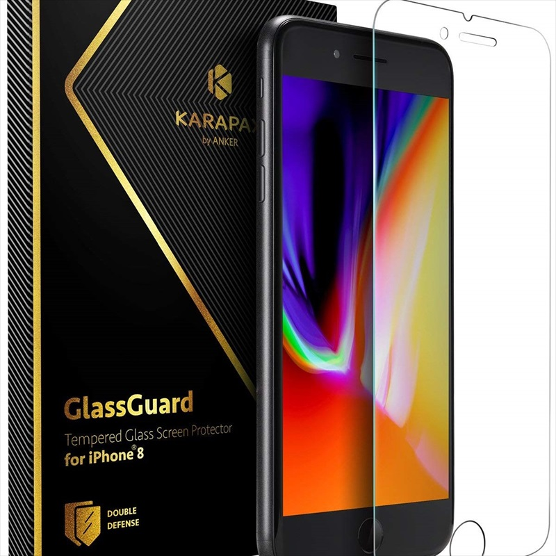 Anker KARAPAX GlassGuard iPhone 8 & 7 用