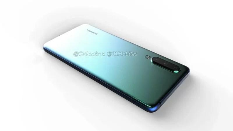 HuaweiのP30Proのリーク画像