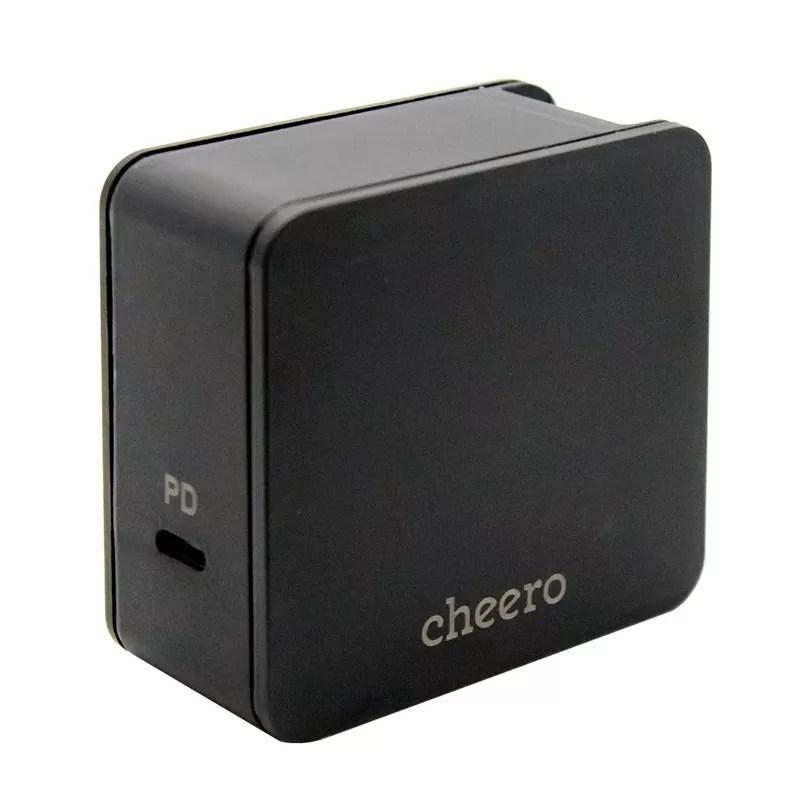 cheeroのUSBtypeC超高速充電アダプターcheero USBtypeC PD Charger 45W