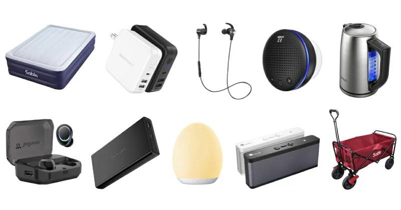 【Amazonタイムセール祭り】RAVPowerやTaoTronicsなどの40製品以上がセール価格で販売