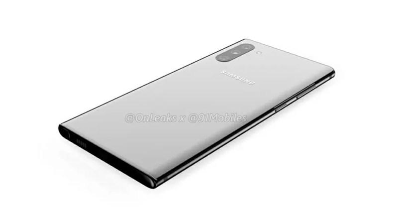 Galaxy Note10 リーク画像 背面