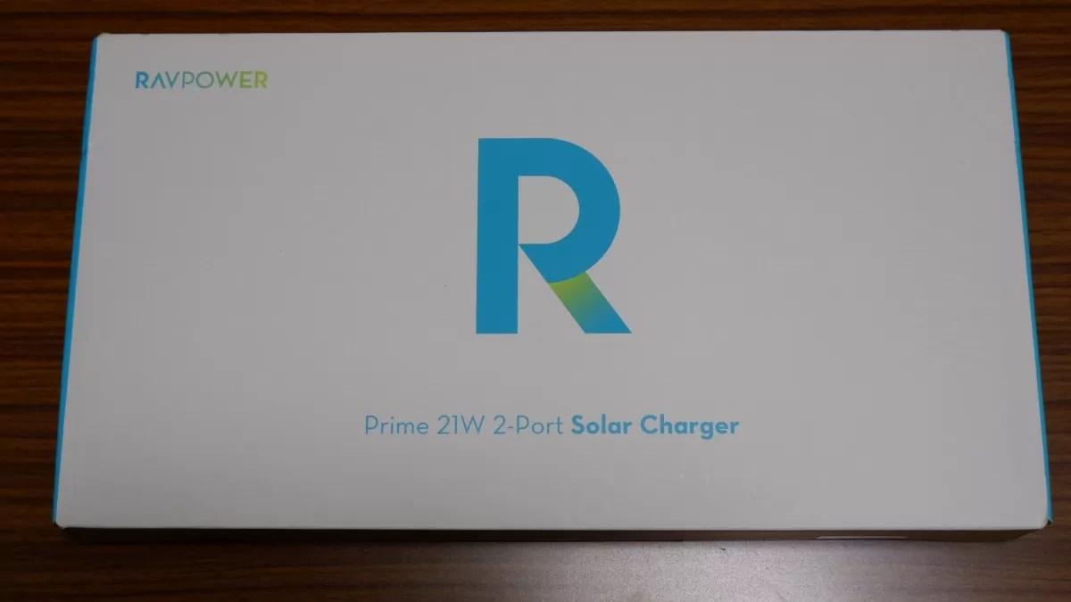 RAVPower RP-PC118のパッケージ