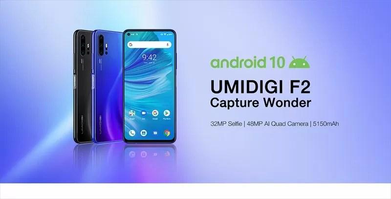 UMIDIGI F2メイン画像