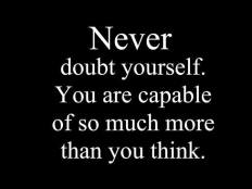 Your are capable