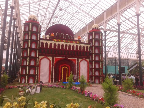 Lalbagh flower show-Bagalore