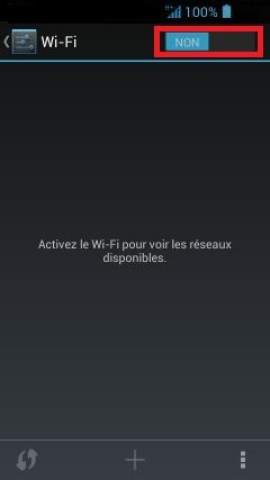 internet Acer android 4 . 2 wifi non