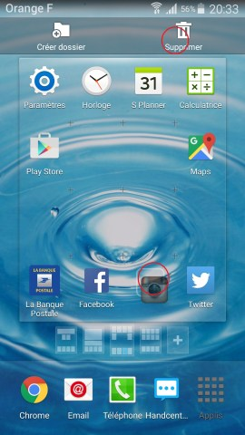 Applications Samsung android 6.0 application supprimer2