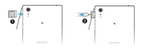 Sony Xperia T3 carte SIM
