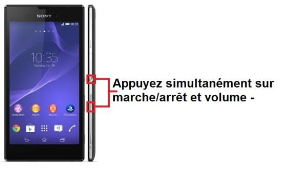 Sony Xperia T3 screenshot