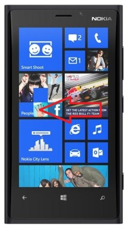 email Lumia windows 8.1 parametre glisser