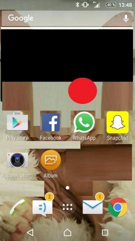 Personnaliser thème sonnerie et fond d'écran (Sony android 6.0) ecran accueil