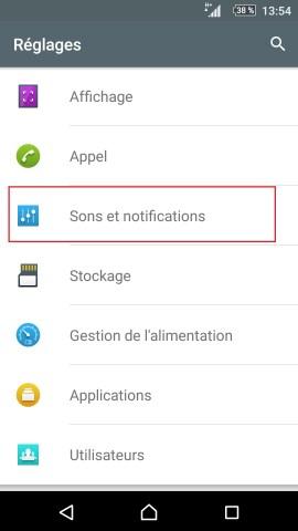 Personnaliser thème sonnerie et fond d'écran (Sony android 6.0) réglages son et notification
